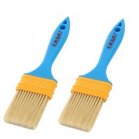 Household Furniture Wall Plastic Painting Paint Supplies Brushes 5cm Width 2pcs