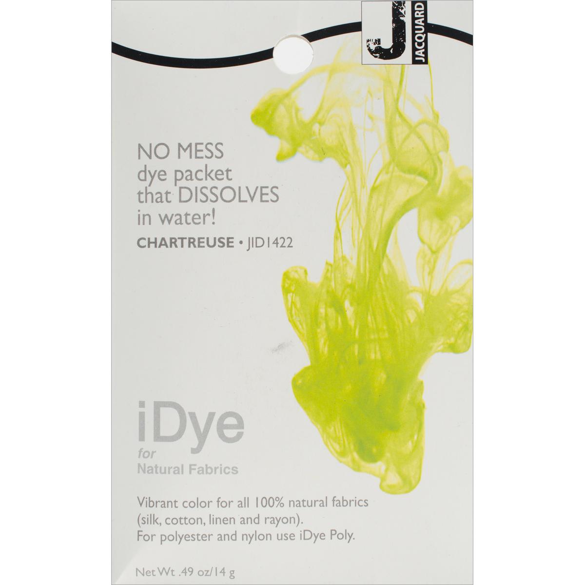 Jacquard iDye Fabric Dye 14g-Chartreuse
