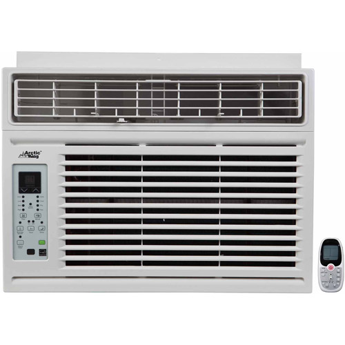 Arctic King WWK+10CR5 10,000-BTU Window Air Conditioner, w/Remote Control, White