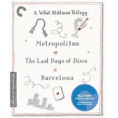 A Whit Stillman Trilogy   Metropolitan   The Last Days Of Disco   Barcelona  Blu Ray