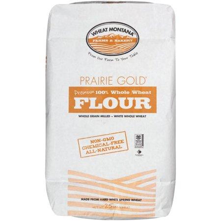 Wheat Montana Prairie Gold Flour 25lb - Walmart com