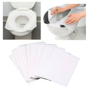 50 Pc Disposable Toilet Seat Covers Paper Sanitary Bath Travel Biodegradable
