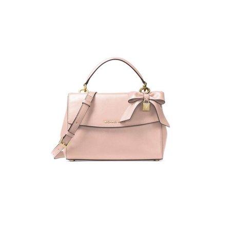 Michael Kors Soft Gold Ava Small Satchel Leather Handbag 30H7GAVS1L-187