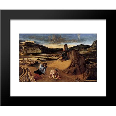 The Agony in the Garden 20x24 Framed Art Print by Bellini, (Frans Schwartz Agony In The Garden Print)