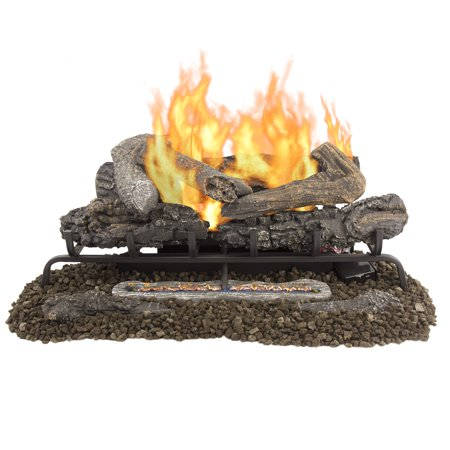 "Pleasant Hearth VFL-VO30DR 30"" Valley Oak Series Vent Free Gas Log Set 33,000 BTU"