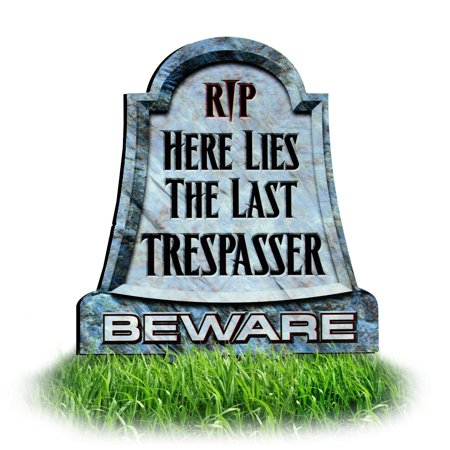 Halloween Headstones Make Your Own (Metal Tombstone Lawn Sign | Halloween Decorations for Yard | Headstone -)