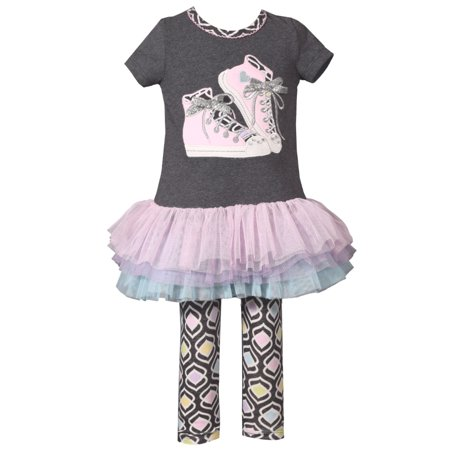 Back To School Clothing Sale (Cute Back to School Pastel Sneaker Tutu Legging Set 12)