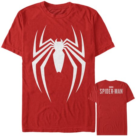 Marvel Men's Gamerverse Spider-Man New Logo T-Shirt - Marvel Suits