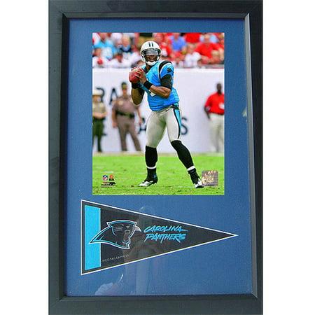 1 Carolina Panthers Framed (NFL Carolina Panthers Pennant Frame,)