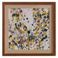MoDRN Glam Multicolored Brush Strokes Wall Art