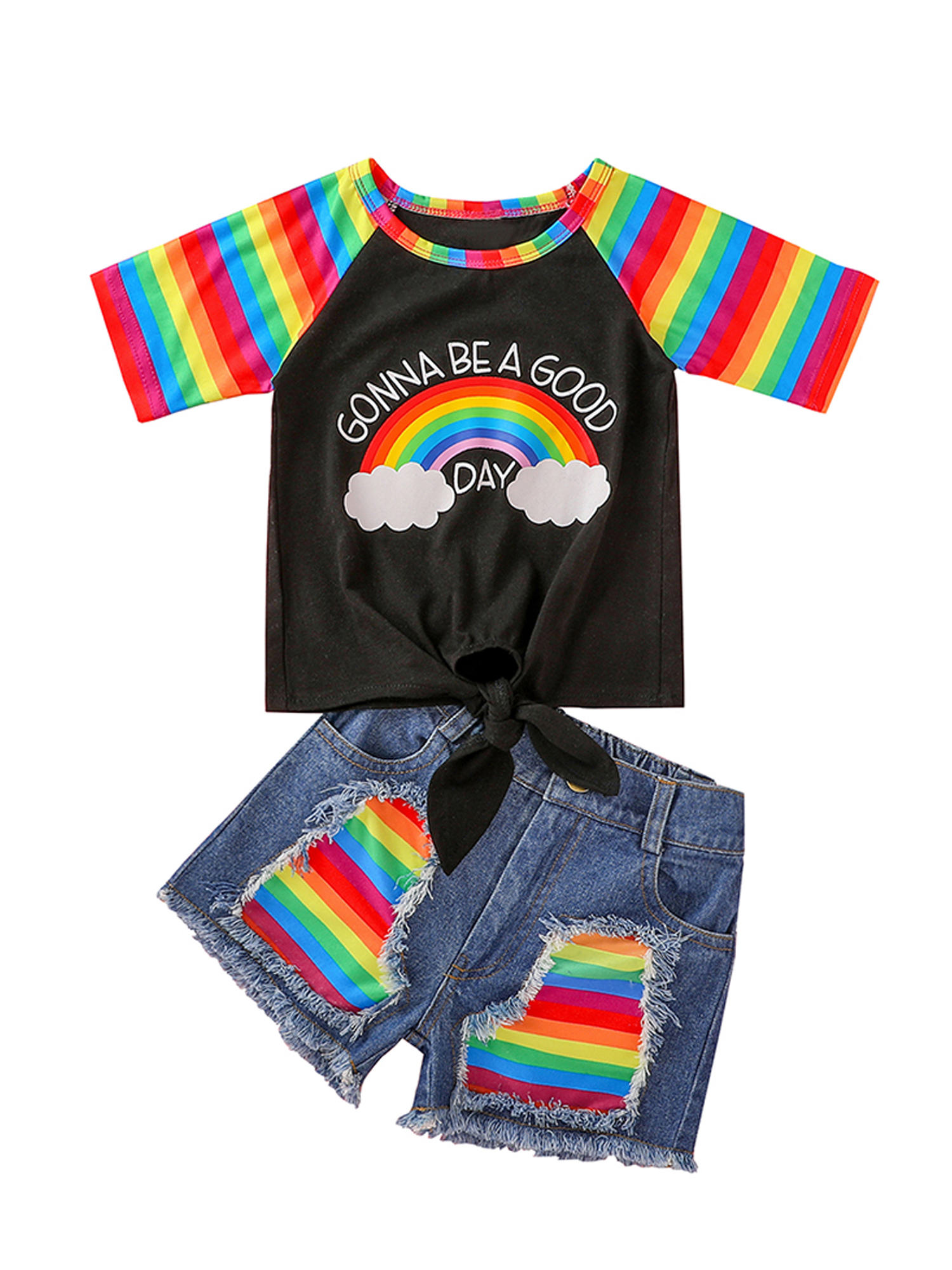 Toddler Boy 3 PC Outfit Set Party Suit Size 1-6 Years Jacket+Top+Jeans..gift