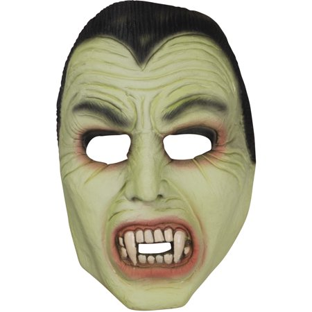 Star Power Dracula Glow in the Dark Half Mask, Green Black, One Size - Dark Knight Rises Bane Mask For Sale