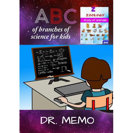 A B C of Branches of Science for Kids - eBook (Dr Memo)
