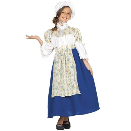 Large Child Colonial Girl Custume](Best Custumes)