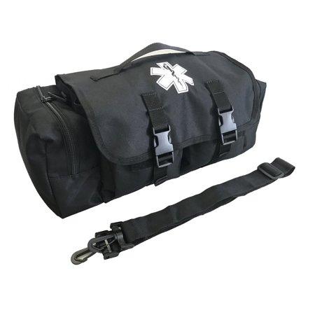 LINE2design Economical Tactical EMS First Aid Medical Bag-Paramedic, EMT, EMS, First Aid Bag Black
