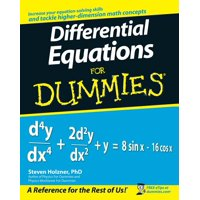 For Dummies: Differential Equations for Dummies (Paperback)