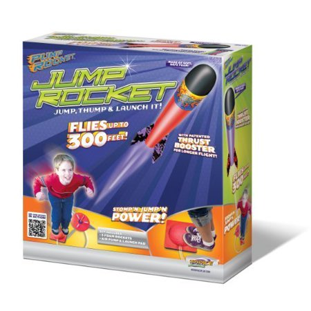 Multiple Rocket Launcher - Original Jump Rocket - Launcher and 3 Rocket Set, Kids will be having so much fun, they won't even realize they are also getting exercise: every time they jump.., By Geospace,USA