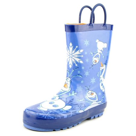 Western Chief Frozen Warm Hugs   Round Toe Synthetic  Rain Boot (Frozen Boots)