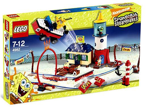 Spongebob Squarepants Mrs. Puff's Boating School Set Lego 4982 by LEGO Systems, Inc.