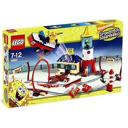 LEGO SpongeBob SquarePants Mrs. Puff's Boating School - Spongebob Lemon