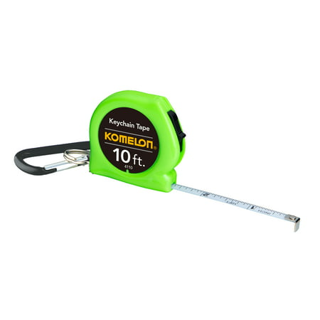 Komelon W4110 10Ft Keychain Tape Measure