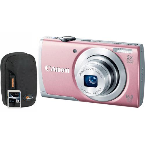 Canon 8161b001-3-kit Includes Powershot