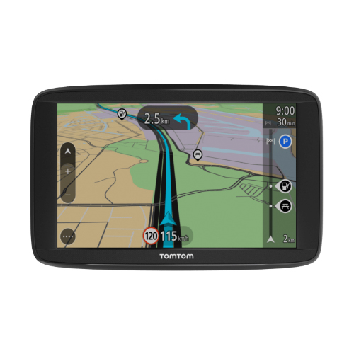 TomTom VIA 1525M 5-inch Lifetime Map Updates Automotive GPS w  Spoken Instructions by TomTom