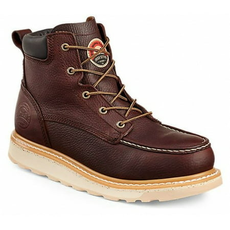 Irish Setter Ashby 83606 Boot, 6 Inch, Aluminum Toe, EH Sole, Brown, 9.5 Wide 83