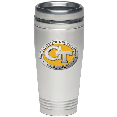 Georgia Tech Yellow Logo Thermal Mug