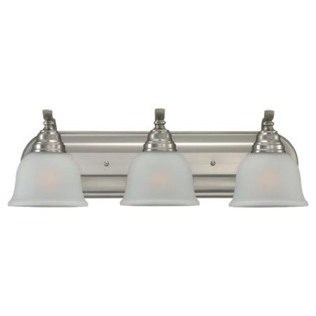 Sea Gull Lighting 44627BLE Wheaton 3 Light Energy Star Bathroom Vanity Light