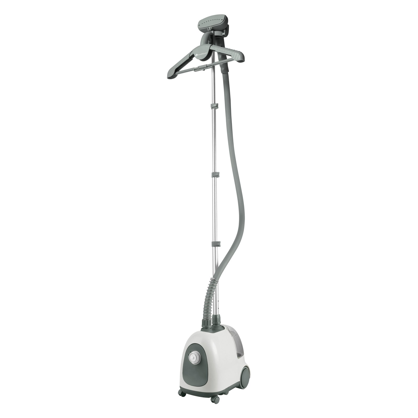 Steam and Go - Professional garment steamer for in home use with accessories included! SAG-12 White