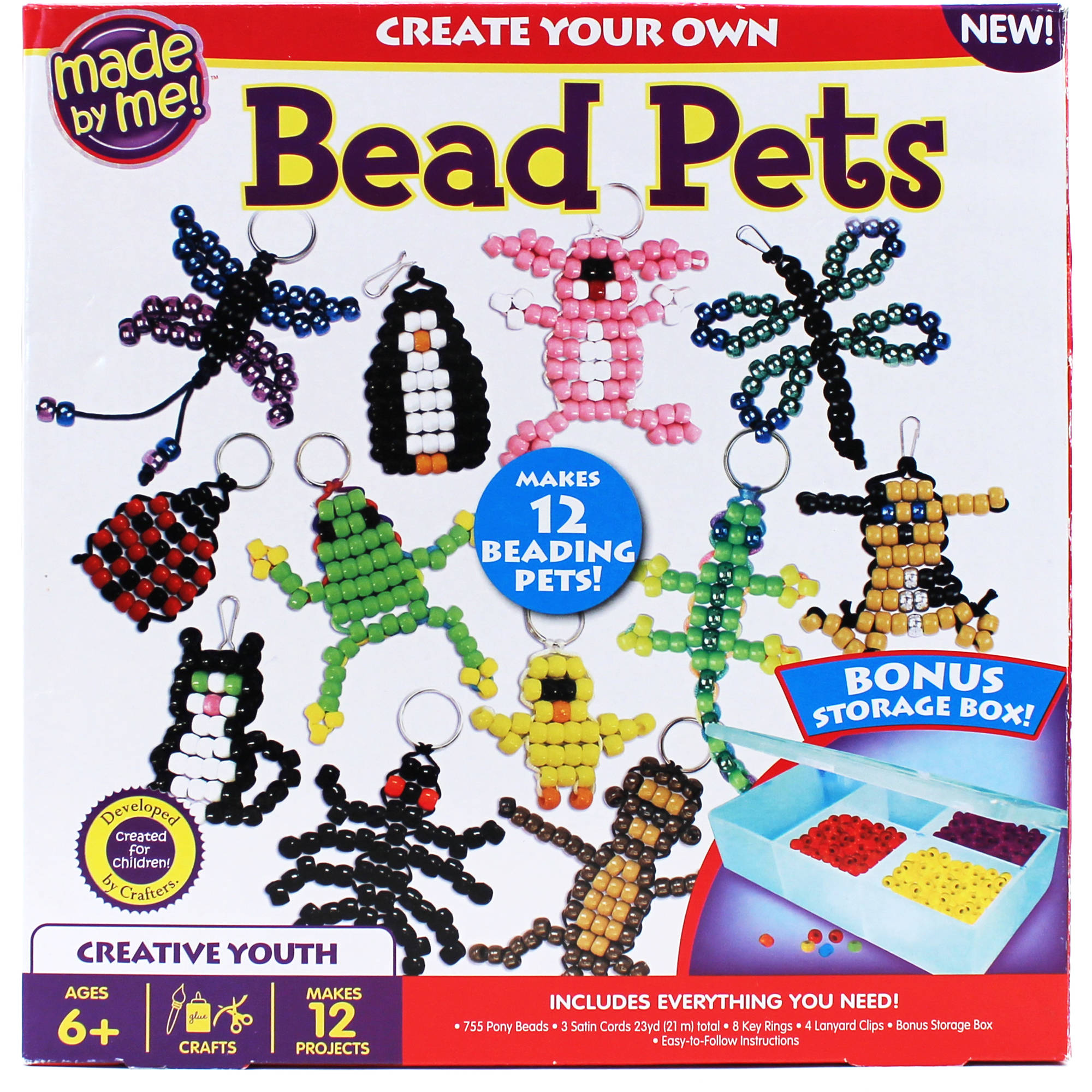 Made By Me Bead Pets Craft Kit by Horizon Group USA
