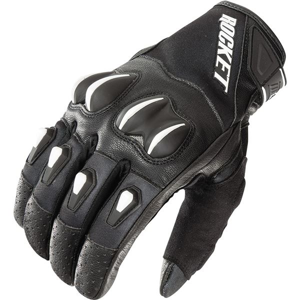 Joe Rocket Cyntek Leather/Textile Motorcycle Glove