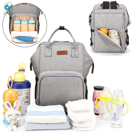 e47089823b9 Deago Diaper Bag Multi-Function Waterproof Travel Backpack Nappy Bags for  Baby Care, Large Capacity with USB Charging Port - Walmart.com
