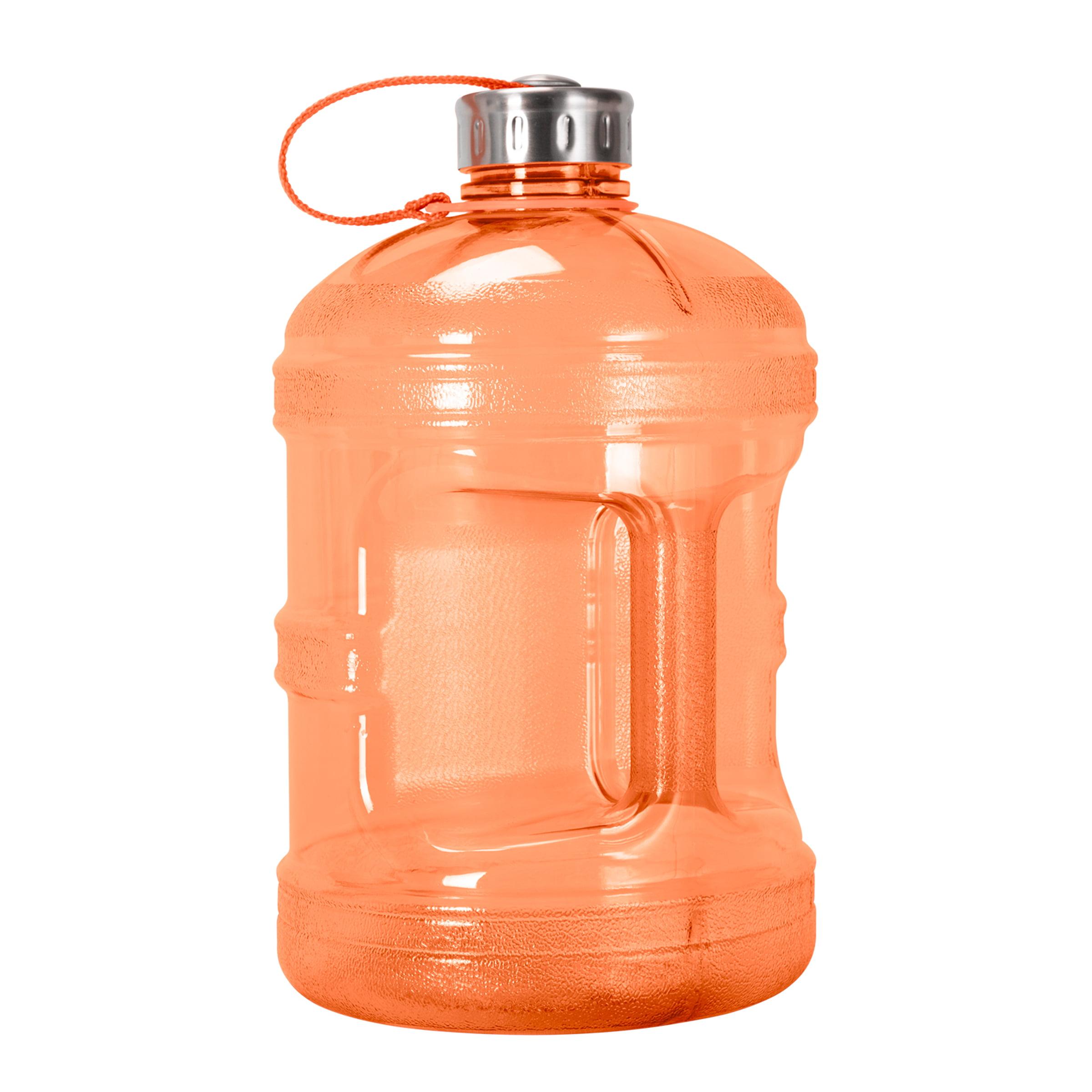 1 Gallon (128oz) BPA Free Reusable Drinking Bottle w/48mm Steel Cap