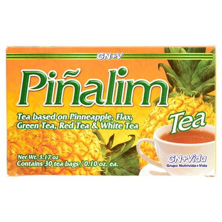 Pimalim Detox Tea Bags, Pineapple, 30 Ct