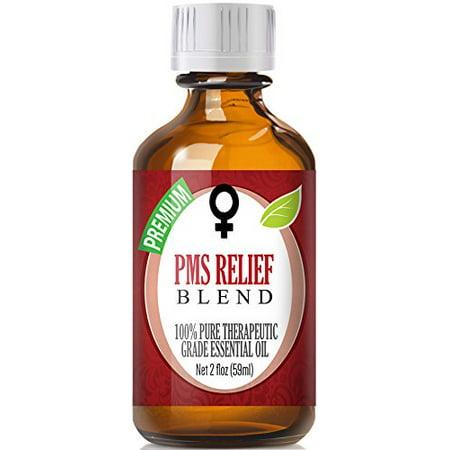 PMS Relief Mélange d'huiles essentielles 100% pure, meilleure thérapeutique de qualité - 60ml - Comparable aux femmes Solace & Young Living Dragon Time doTERRA