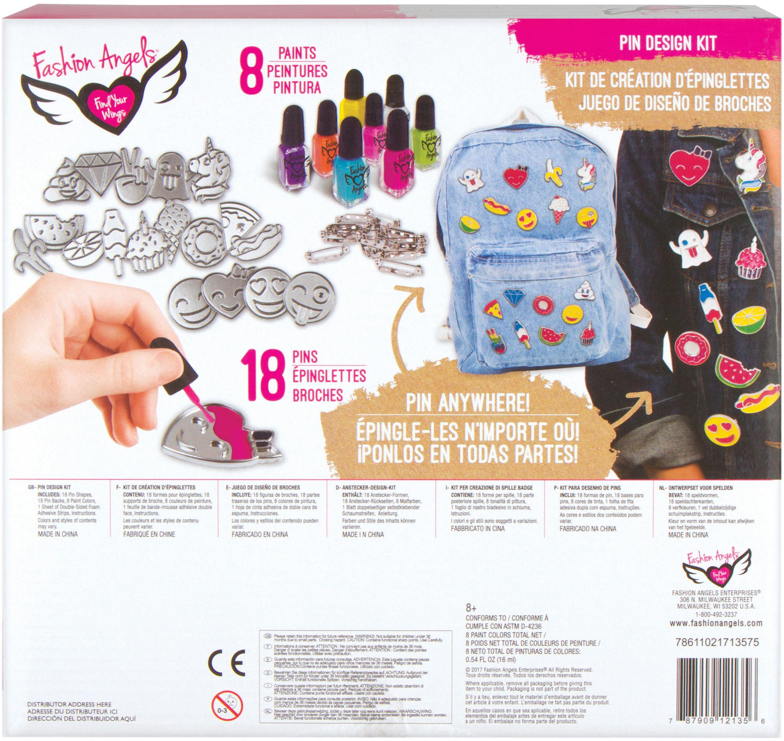 Enamel Pin Kit-