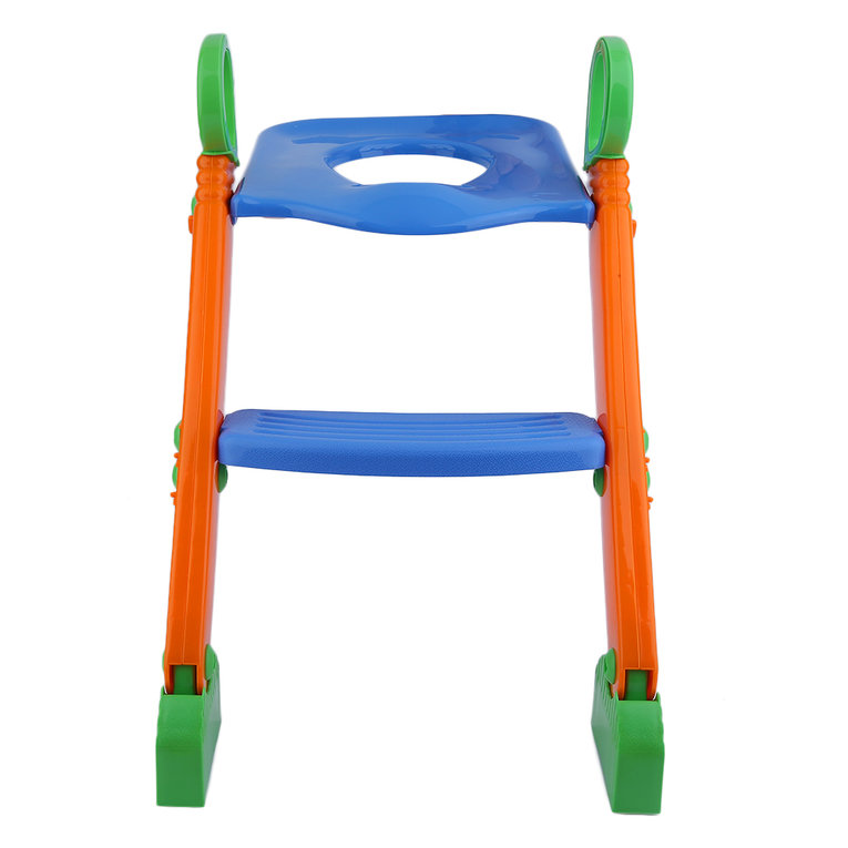 Folding Kids Toddler Toilet Potty Training Seat With Step Stool Ladder by yiping
