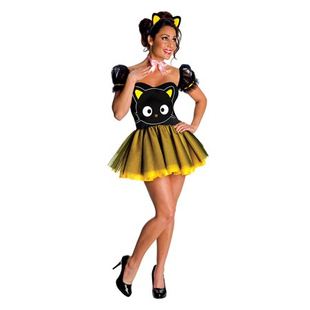 Sassy Hello Kitty Chococat Costume by Rubies 880396 - Hello Kitty Adult Halloween Costume