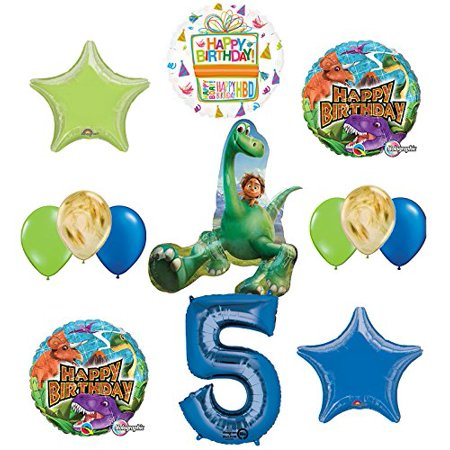 Arlo and Spot The Good Dinosaur 5th Birthday Party Supplies