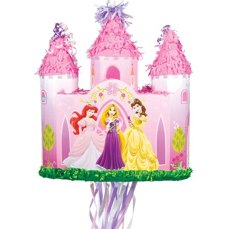 Disney Princess Castle Pull-String Pinata - Disney Princess Pinata