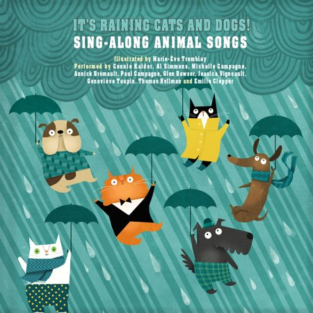 Cats Singing Halloween Songs (It's Raining Cats and Dogs! : Sing-Along Animal)