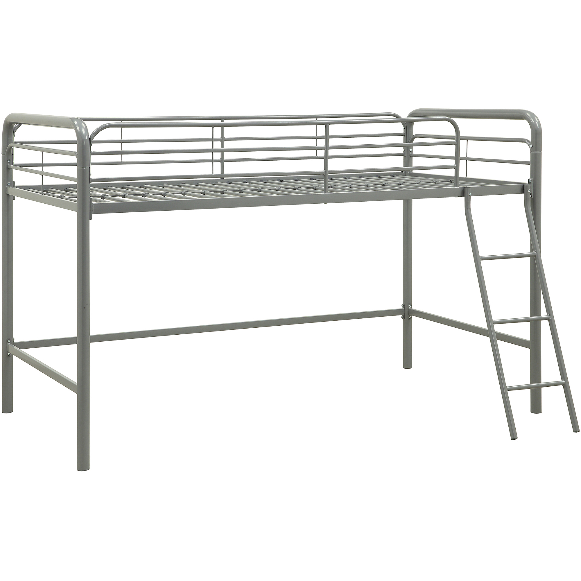 Metal Bedroom Bench Junior Metal Loft Bed Multiple Colors Walmartcom