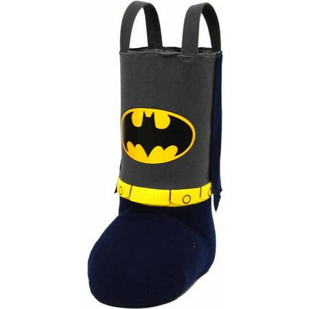 holiday time christmas decor batman 13 standing stocking