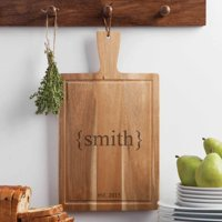 Personalized Carving Board - Family Name