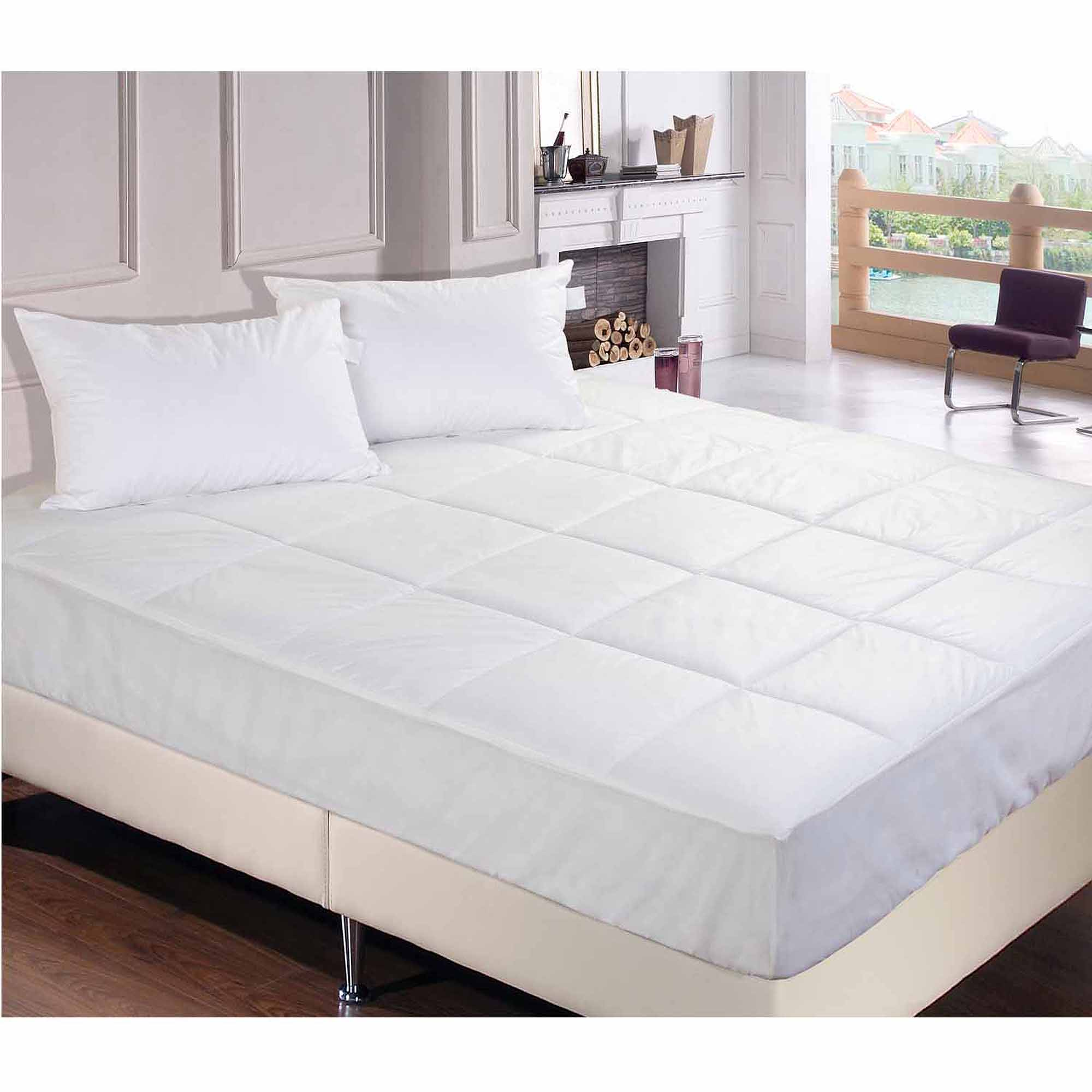 Permafresh Bed Bug and Dust Mite Control Water-Resistant Polypropylene Mattress Pad by Epoch Hometex Inc