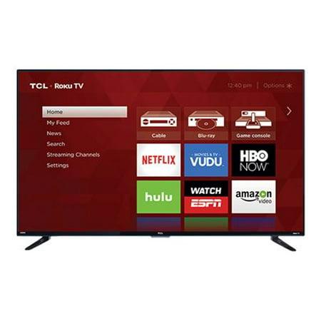 """TCL 55US57 55"""" 4K Ultra HD 2160p 120Hz Roku Smart LED HDTV"""