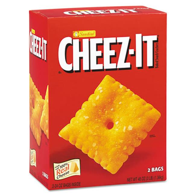 Kellogg'S 827695 Cheez-it Crackers, 48 oz Box