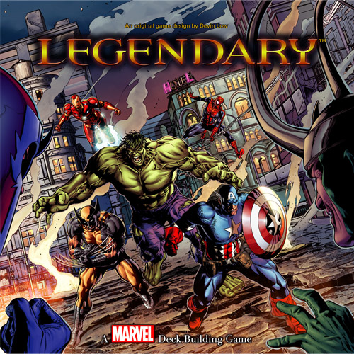 Upper Deck Marvel Legendary Deck Building Game